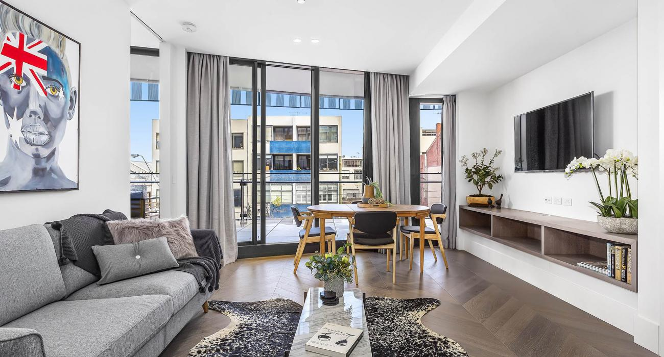 The Capitol - South Yarra - Living and Dining b