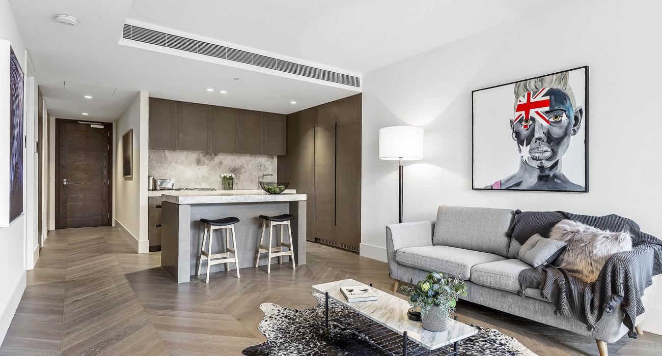 The Capitol - South Yarra - Living and Kitchen