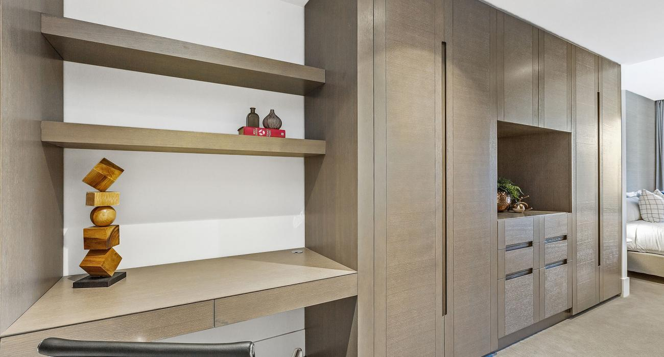 The Capitol - South Yarra - Walk-in Robe and Study Space