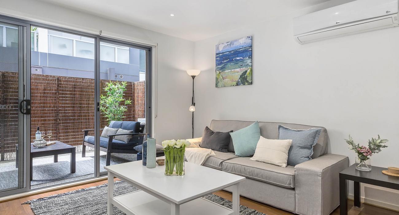 The Lansdowne - St Kilda - Living Area b