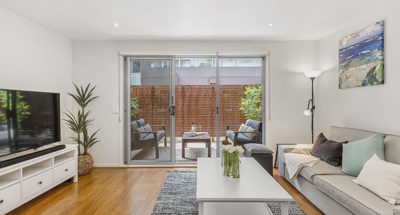 The Lansdowne - St Kilda - Living Area