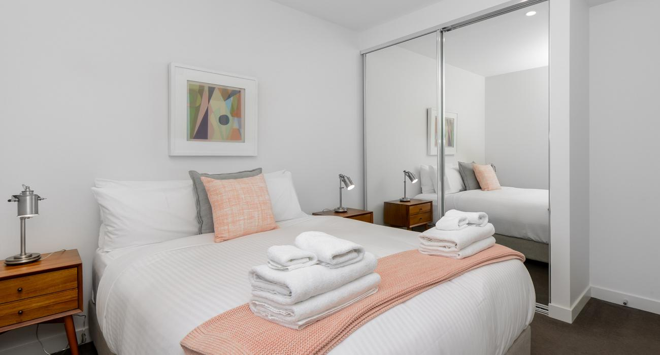 The Lincoln - South Yarra - Bedroom b