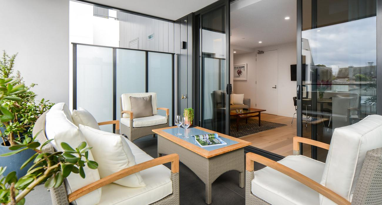 The Lincoln - South Yarra - Lounge Area b