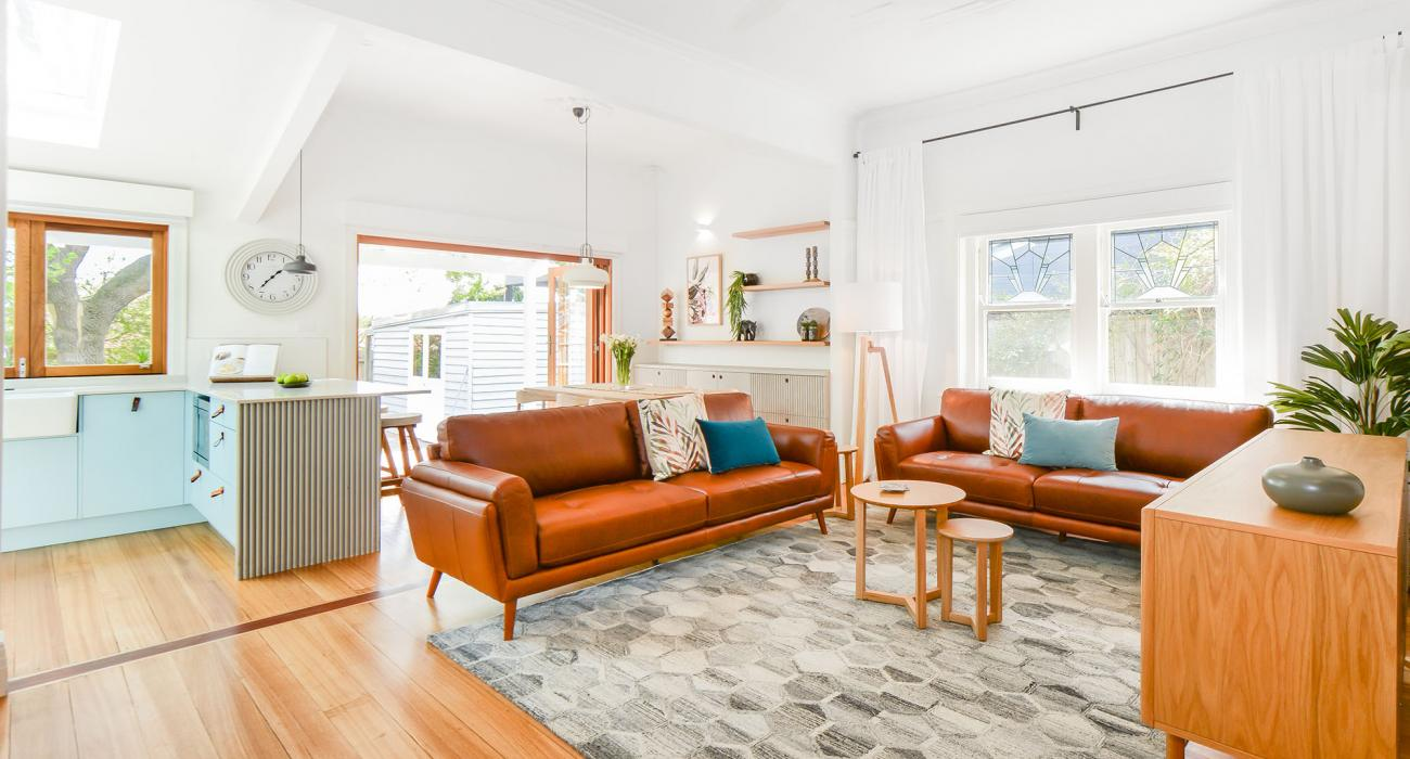 The Veronica - Northcote - Living Area