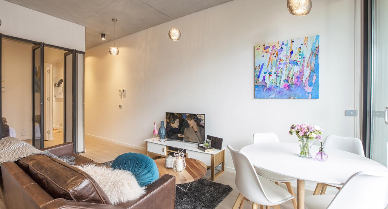 Vox Terrace - Prahran - Living and Dining Area
