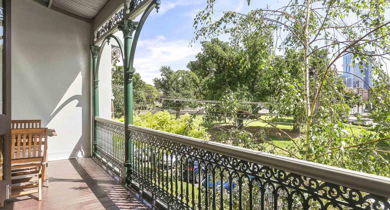 Zetland Terrace - South Melbourne -Balcony