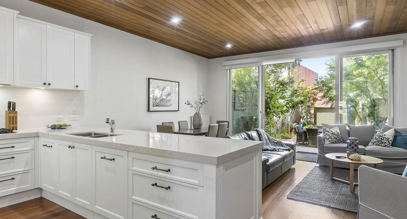 Zetland Terrace - South Melbourne -Kitchen and Living