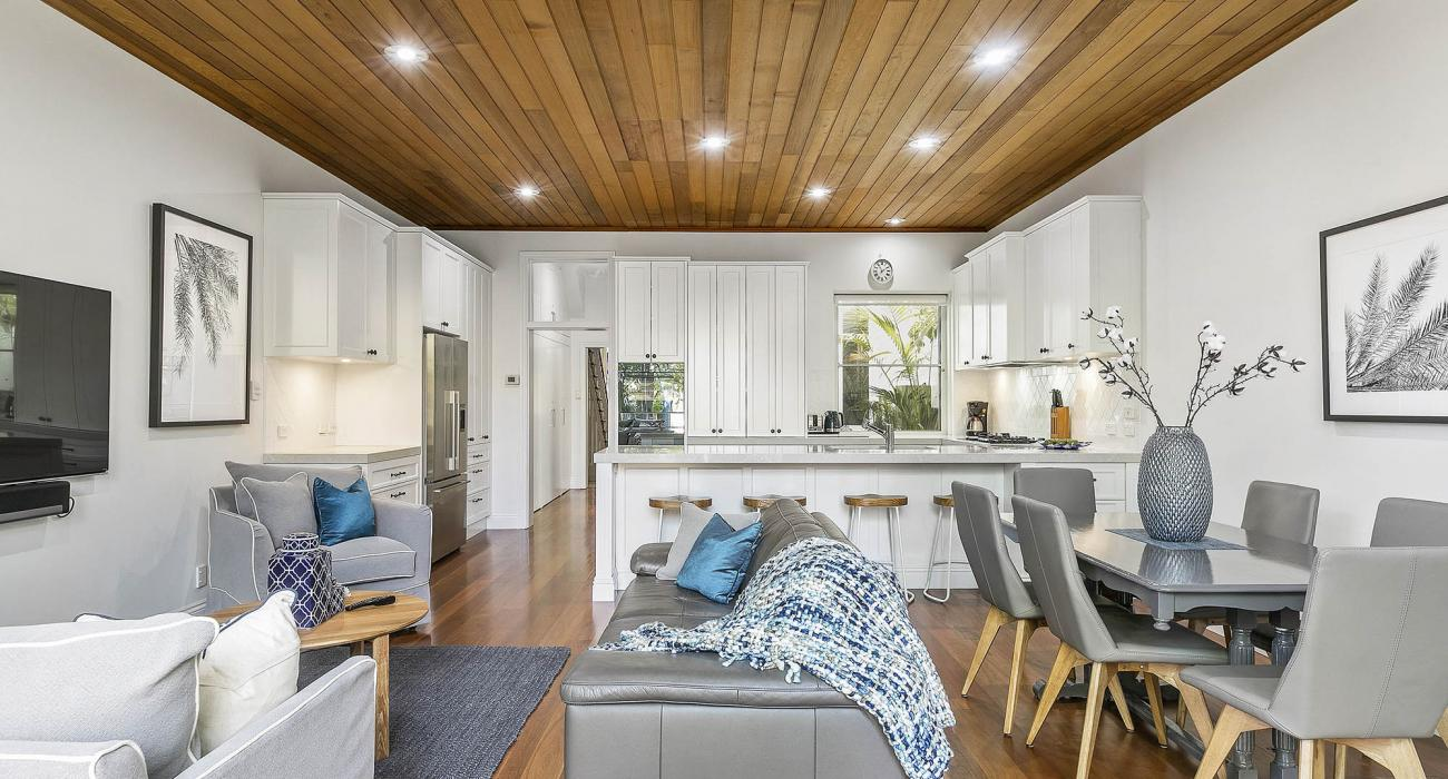 Zetland Terrace - South Melbourne -Living Dining and Kitchen