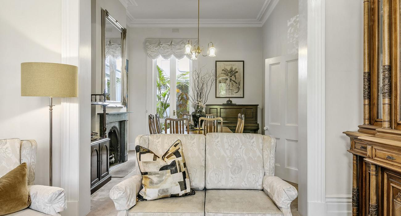 Zetland Terrace - South Melbourne -Sitting Room and Dining