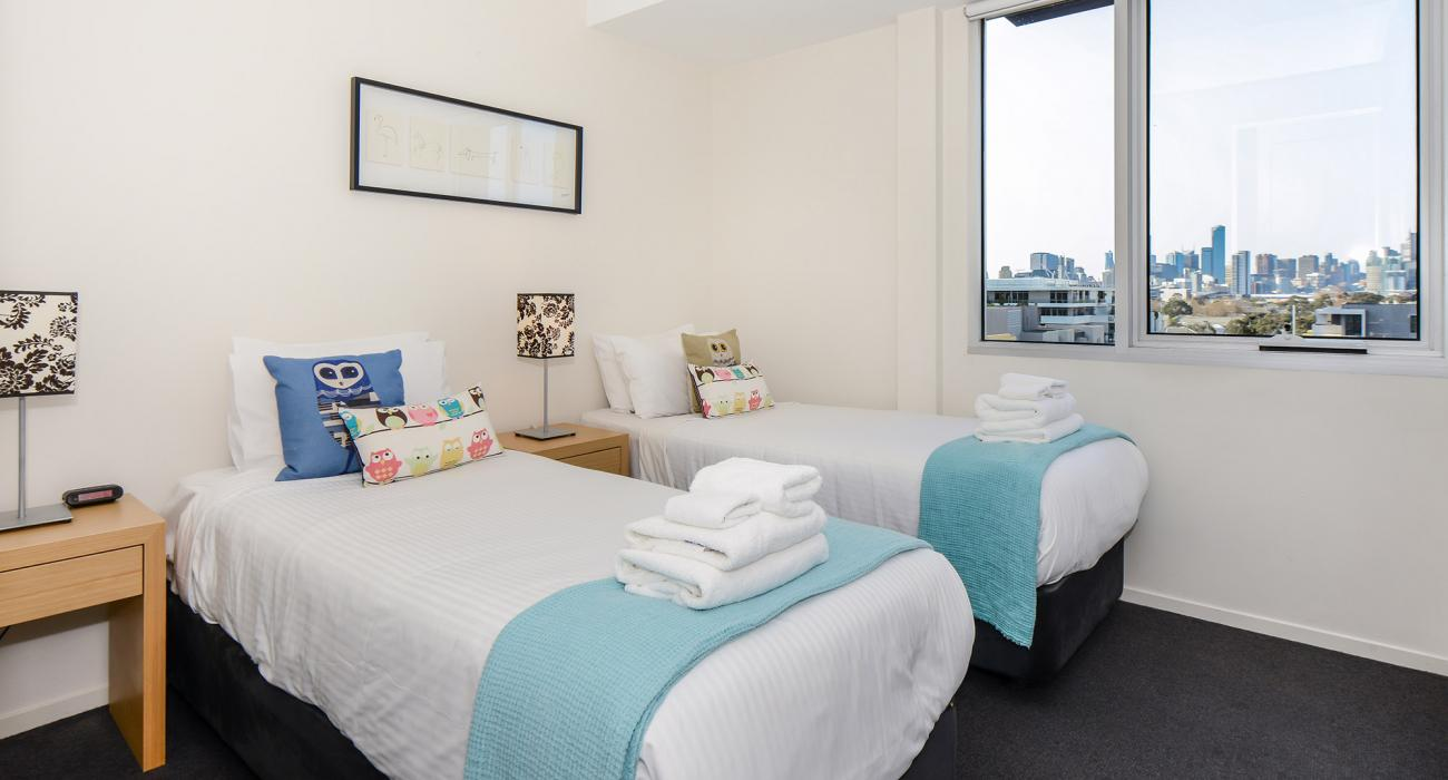 Zinc Views 501 - Port Melbourne - Bedroom 2