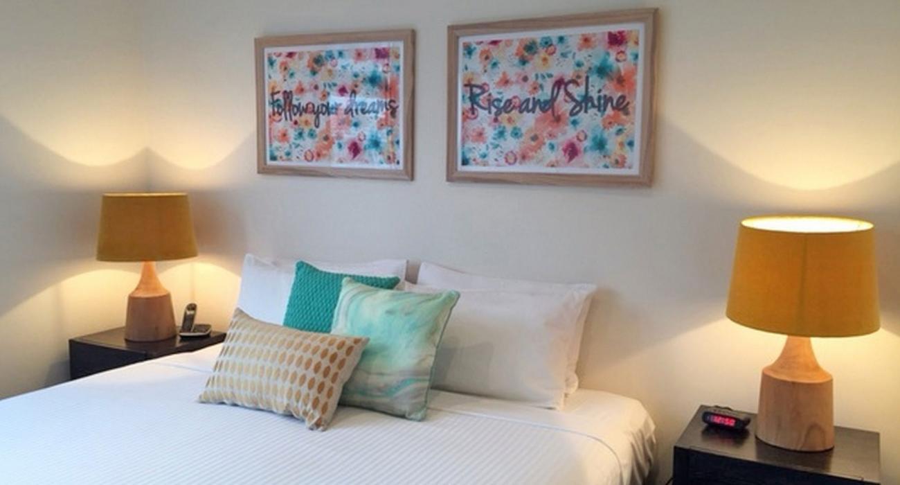 Zinc Views 501 - Port Melbourne - Bedroom k