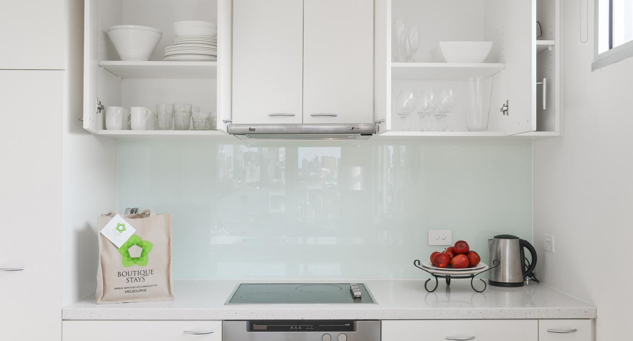 Zinc Views 501 - Port Melbourne - Kitchen