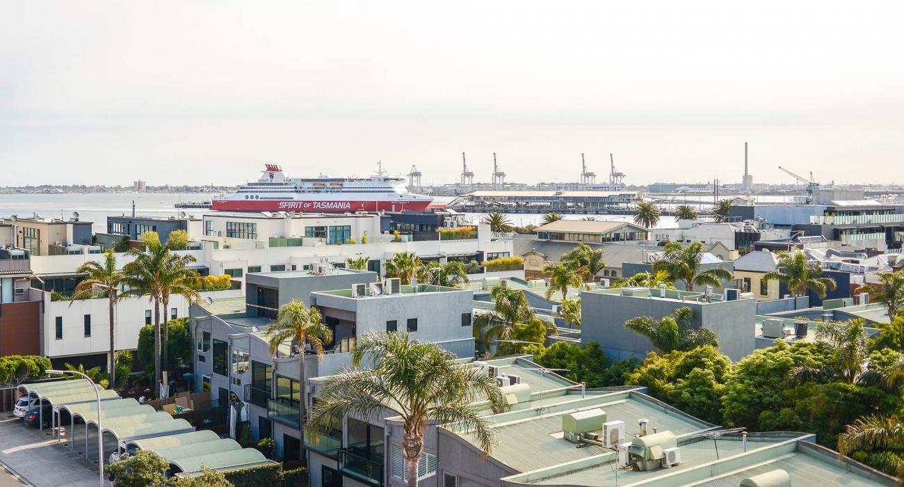 Zinc Views 501 - Port Melbourne - View from Balcony