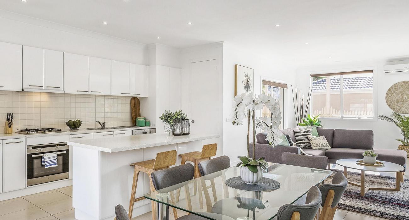 The Richardson - Mentone - Living Dining Kitchen c