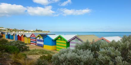 Brighton Beach Shacks