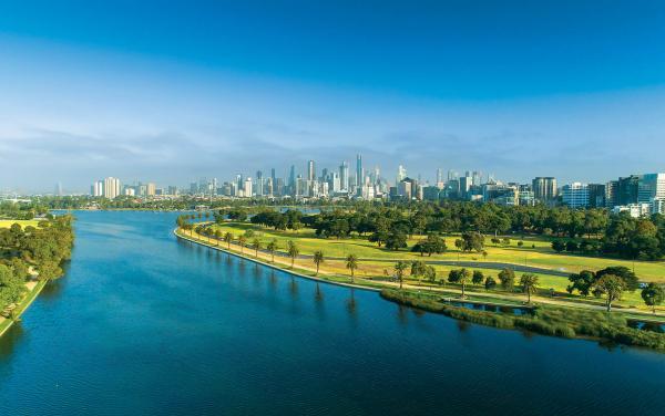 Albert Park - Albert Park View of City