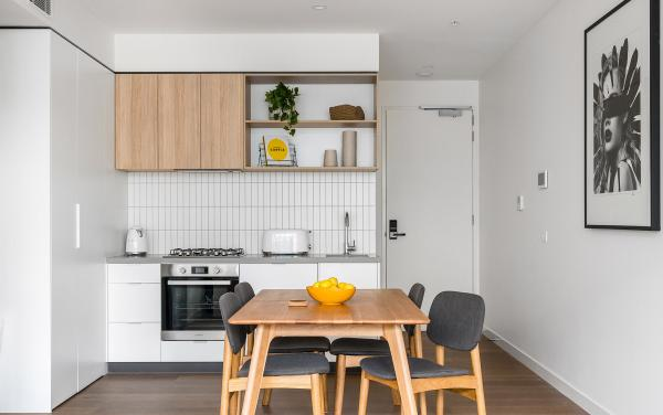 Axel Apartments - The Anderson - Glen Iris - Dining and Kitchen