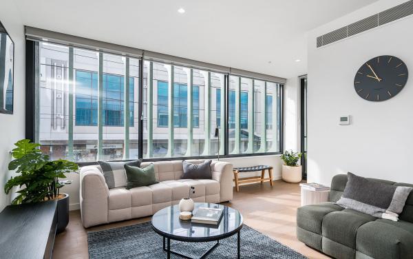 Axel Apartments - The Anderson - Glen Iris - Living d
