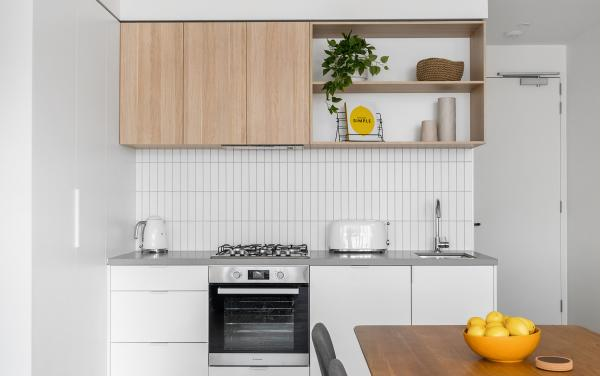 Axel Apartments - The Clarke - Glen Iris - Kitchen