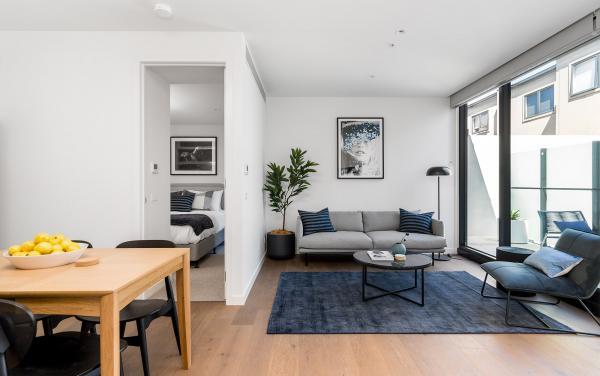 Axel Apartments - The Parkin - Glen Iris - Living