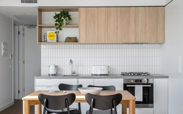 Axel Apartments - The Radnor - Glen Iris - Kitchen and Dining