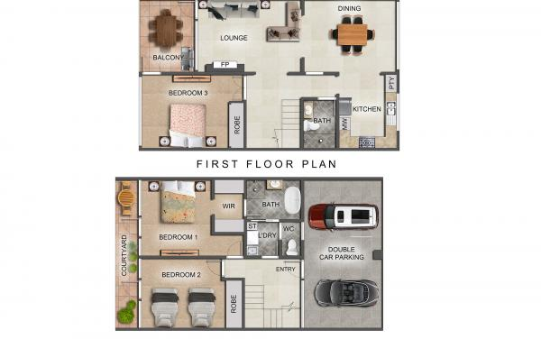 Brighton By Sea - Brighton - Floor Plan 2000px