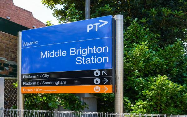 Middle Brighton Station