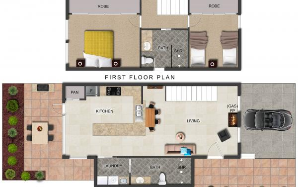 Buckingham - Richmond - New Floorplan with Updated Bathroom 2000px