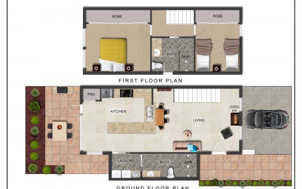 Buckingham - Richmond - New floorplan with updated bathroom -2000px