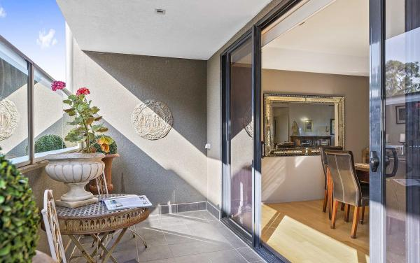 Catani Gardens - St Kilda - Smaller Balcony