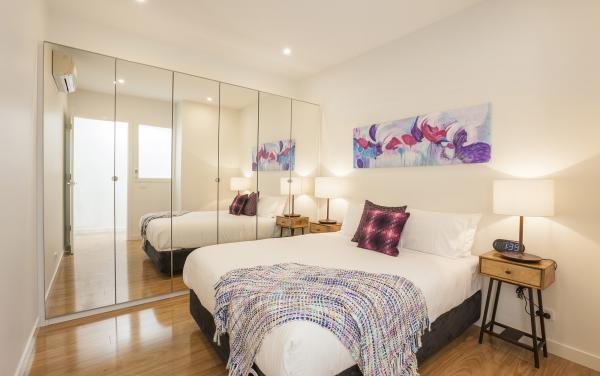 Central Park - South Melbourne -  Main Bedroom c