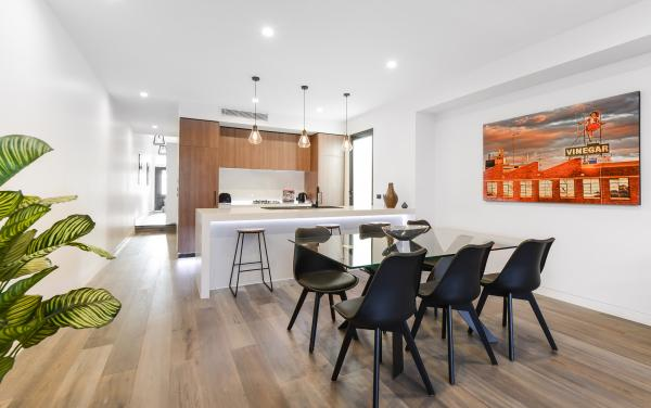 County Down - Port Melbourne - Dining Area Kitchen Area