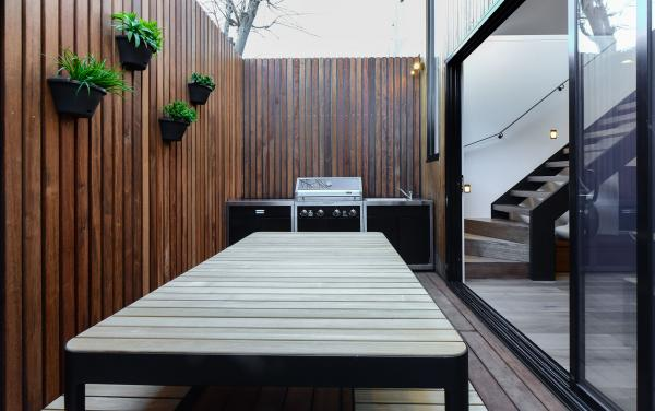 County Down - Port Melbourne - Outdoor BBQ Area