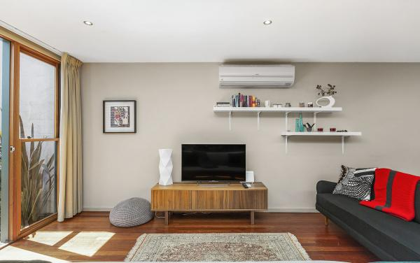 Curran Terrace - North Melbourne - Living Area