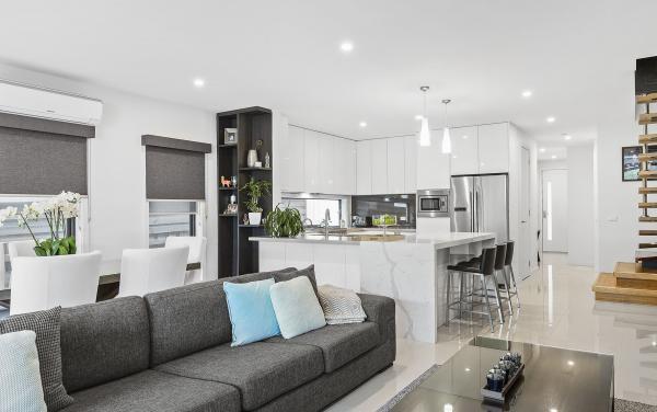 Edinburgh Place - Flemington - Living and Kitchen