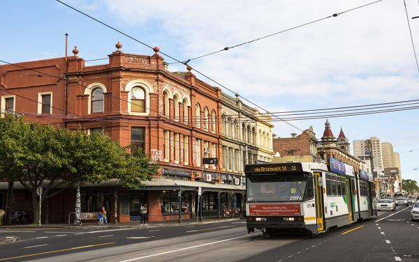 Fitzroy Melbourne - Brunswick Street Tram