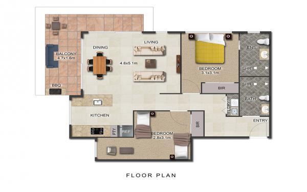 Maybloom - 2D floorplan - 2000px