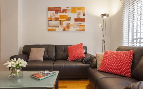 Melrose Terrace - North Melbourne - Living Area b