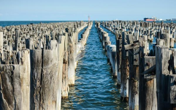 Port Melbourne disused pier