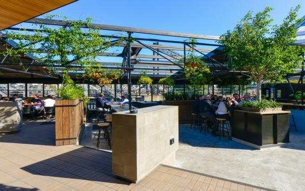Trendy Cafes and Restaurants