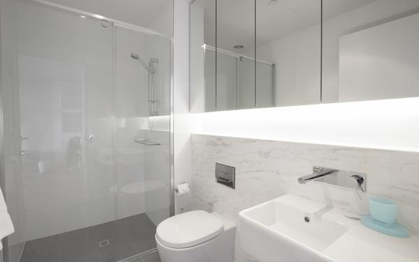 Sea Breeze at Port - Melbourne - Bathroom