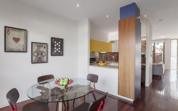Somerset Terrace - Richmond - Dining and Kitchen Area