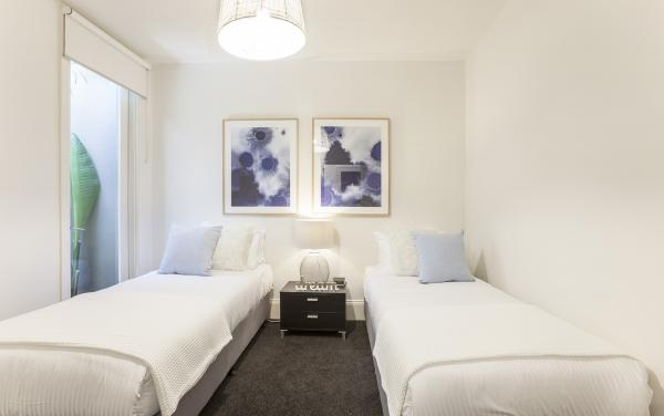 South Yarra Lane - South Yarra - Twin Bedroom
