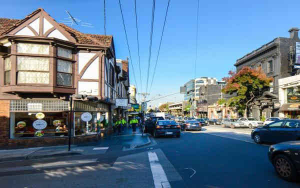 South Yarra Street Corner