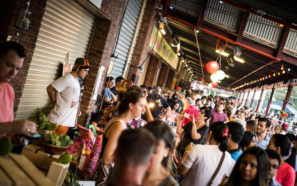 Shouth Melbourne Night Markets