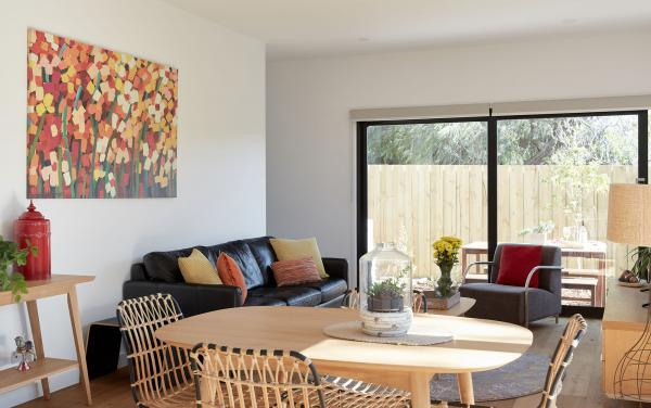The Aspy - Aspendale - Dining and Living Area b