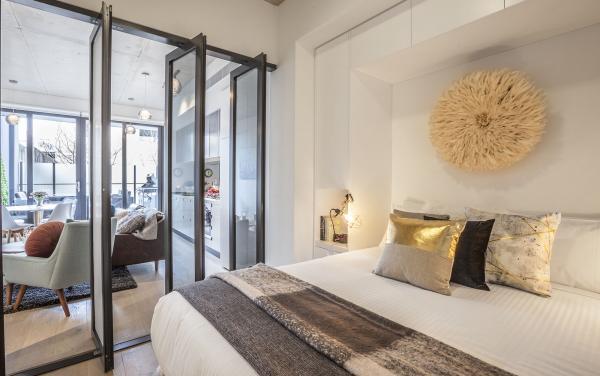 Vox Terrace - Prahran - Master Bedroom c