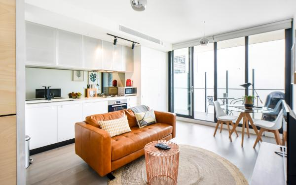 Vox Vibe - Prahran - Living and Kitchen Area