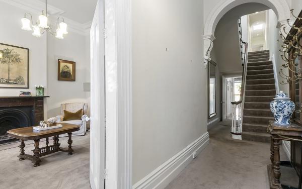Zetland Terrace - South Melbourne - Entrance and Sitting Room