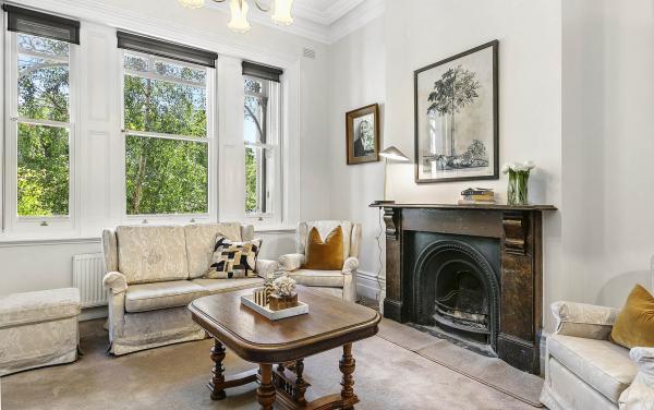 Zetland Terrace - South Melbourne -Front Sitting Room